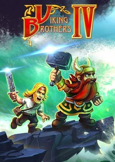 Viking Brothers 4 Steam Key GLOBAL