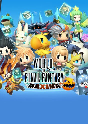 World of Final Fantasy - Maxima Upgrade (DLC) Steam Key GLOBAL