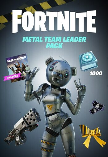Fortnite - Metal Team Leader Pack + 1000 V-Bucks Challenge (Xbox One) Xbox Live Key EUROPE