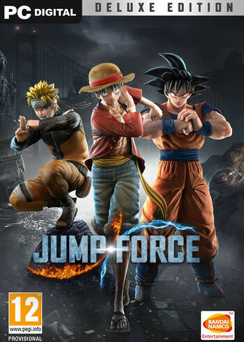 Jump Force (Deluxe Edition) Steam Key GLOBAL
