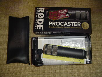 Micro Rode ProCaster + accessoires