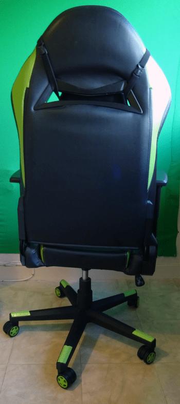 Chaise de bureau GAMING VERT CLAIR, Fauteuil de bureau GAMER - Hauteur Réglable