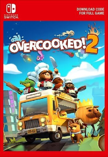 Overcooked! 2 (Nintendo Switch) eShop Key EUROPE