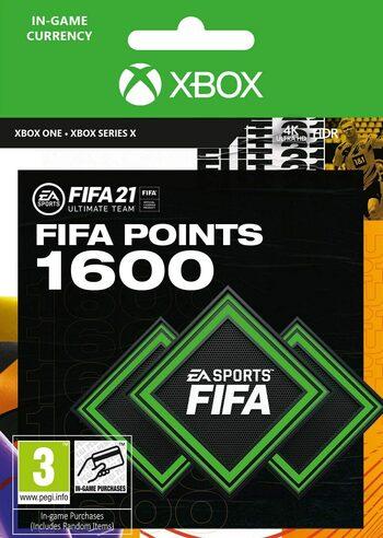 FIFA 21 - 1600 FUT Points (Xbox One) Xbox Live Klucz GLOBAL