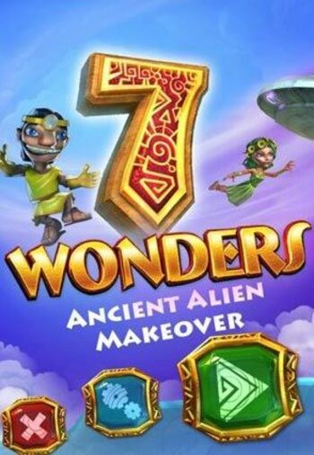 7 Wonders: Ancient Alien Makeover Steam Key GLOBAL