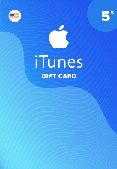 Apple iTunes Gift Card 5 USD iTunes (USA) ESTADOS UNIDOS ¡MÁS BARATO!