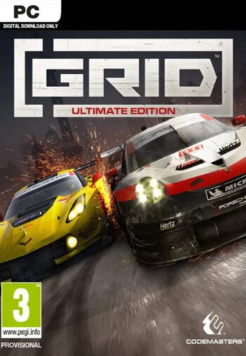 GRID Ultimate Edition Upgrade (DLC) Steam Key GLOBAL