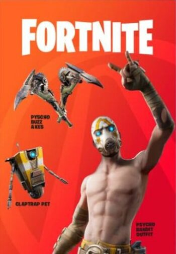 Fortnite - Psycho Bundle (DLC) + Borderlands 3 Epic Games Key GLOBAL