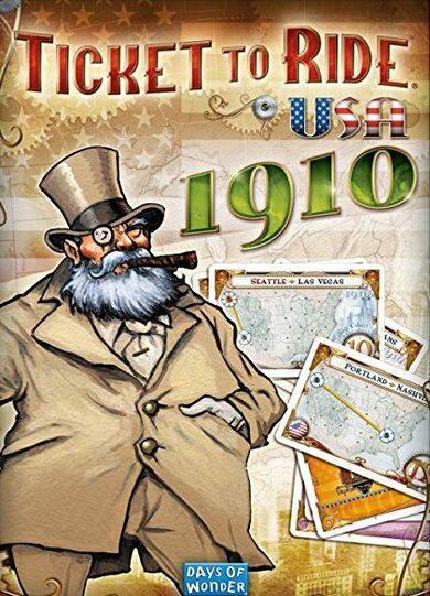 Ticket To Ride USA 1910 (DLC) Steam Key GLOBAL