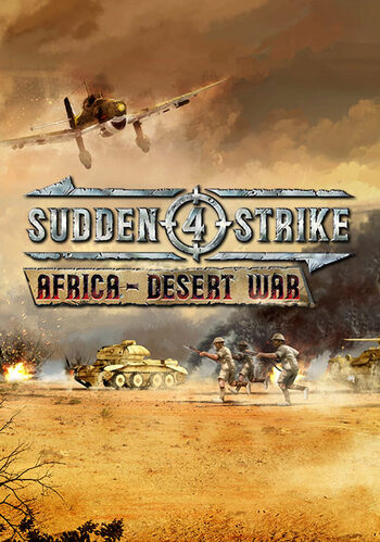 Sudden Strike 4 - Africa Desert War (DLC) Steam Key GLOBAL