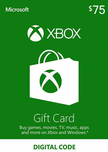 Xbox Live Gift Card 75 CAD Xbox Live Key CANADA