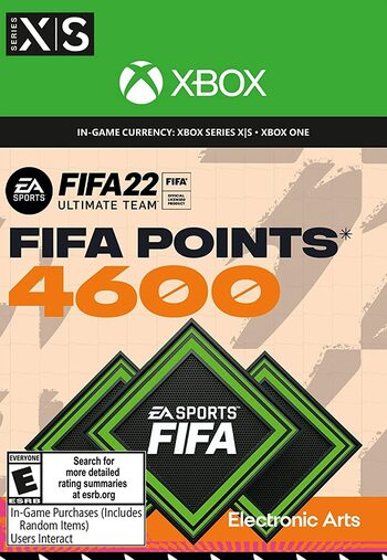 FIFA 22 - 4600 FUT Points Xbox Live Key GLOBAL