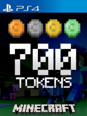 Minecraft: 700 Tokens (PS4) PSN Key EUROPE