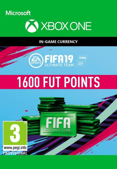 FIFA 19 - 1600 FUT Points (Xbox One) Xbox Live Key GLOBAL