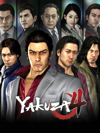 Yakuza 4 Remastered Steam Key GLOBAL