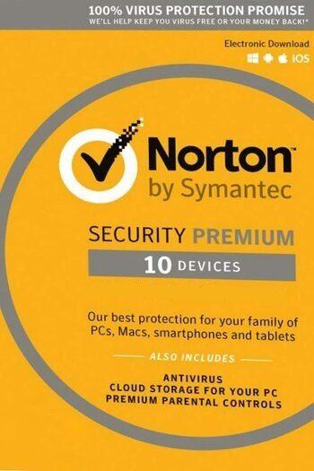 Norton Security Premium - 10 Devices - 3 Months - Norton Key GLOBAL