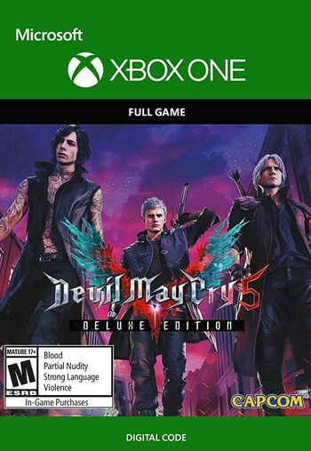 Devil May Cry 5 (Deluxe Edition) (Xbox One) Xbox Live Key UNITED STATES