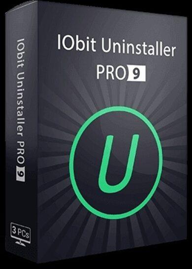 IObit Uninstaller 9 PRO 1 Year, 3 device licence Iobit Key GLOBAL