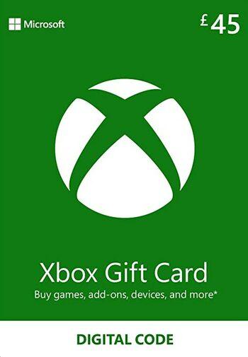 Xbox Live Gift Card 45 GBP Xbox Live Key UNITED KINGDOM