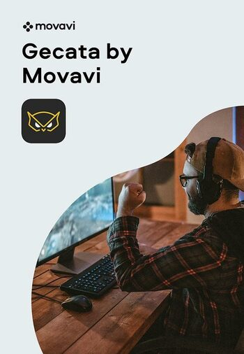 Gecata by Movavi 6 - Streaming and Game Recording Software Steam Key GLOBAL
