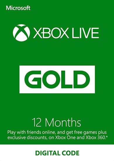 Xbox Live Gold 12 Monate Xbox Live key GLOBAL