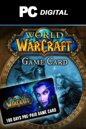 World of Warcraft 180-days time card Battle.net Key EUROPE