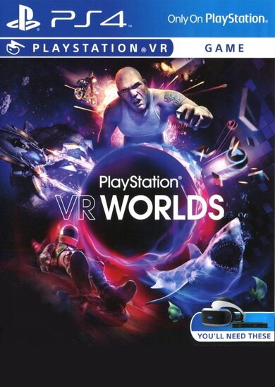 PlayStation VR Worlds (PS4) [VR] PSN Key EUROPE