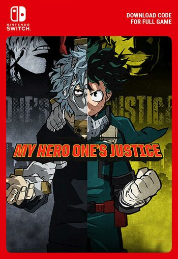My Hero Ones Justice (Nintendo Switch) eShop Key EUROPE