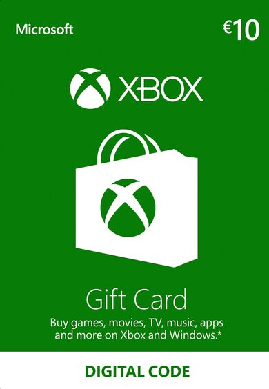 Xbox Live Gift Card 10 EUR Xbox Live Key EUROPE фото