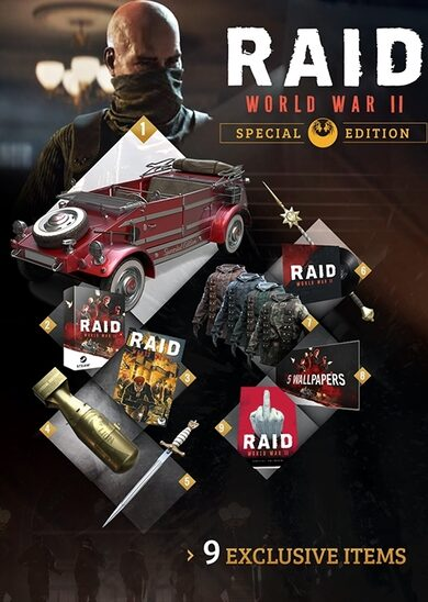 Buy RAID: World War II (Special Edition) (Uncut) key