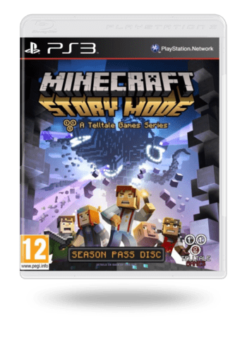 Minecraft: Story Mode - A Telltale Games Series PlayStation 3