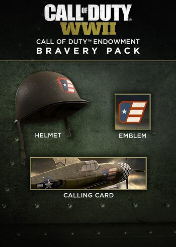 Call of Duty: WWII - Call of Duty Endowment Bravery Pack (DLC) Steam Key GLOBAL