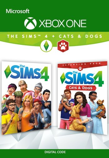 The Sims 4 + Cats & Dogs DLC Bundle XBOX LIVE Key GLOBAL