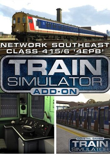 Train Simulator: Network SouthEast Class 415 '4EPB' EMU (DLC) (PC) Steam Key GLOBAL