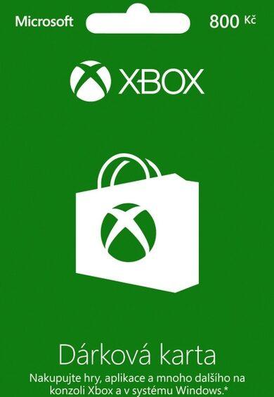 Xbox Live Gift Card 800 CZK (CZ) Xbox Live Key CZECH REPUBLIC