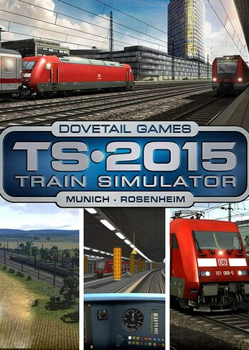 Train Simulator - Munich - Rosenheim Route Add-On (DLC) Steam Key EUROPE