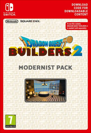 Dragon Quest Builders 2 - Modernist Pack (DLC) (Nintendo Switch) eShop Key EUROPE фото