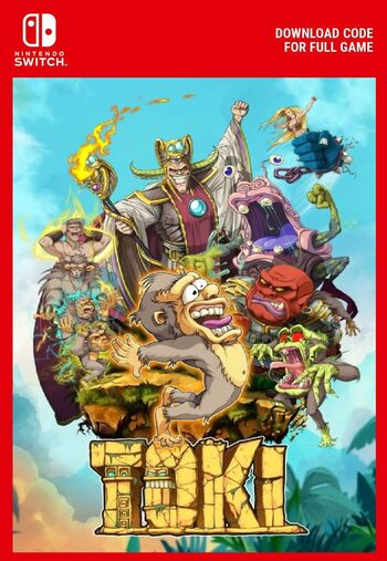 Toki (Nintendo Switch) eShop Key EUROPE