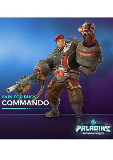 Buy Paladins - Buck Hero + Commando Skin Key GLOBAL | ENEBA