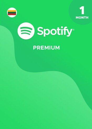 Spotify Premium 1 Mėnesio Raktas LIETUVA