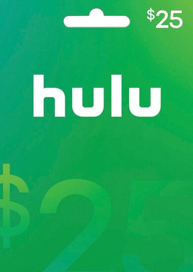 HULU $25 USD Gift Card Key NORTH AMERICA
