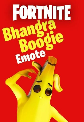 Fortnite - Bhangra Boogie Emote (DLC) Código de Epic Games GLOBAL