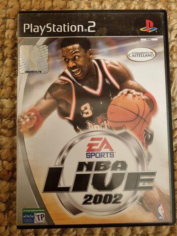 NBA Live 2002 PlayStation 2
