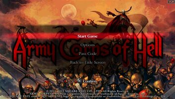 Army Corps of Hell PS Vita