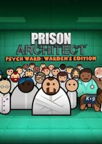 Prison Architect - Psych Ward - Warden's Edition (DLC) Steam Key GLOBAL