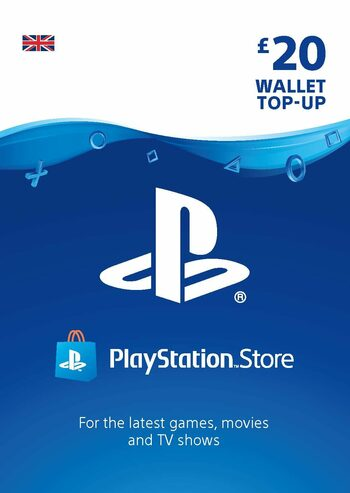 PlayStation Network Card 20 GBP (UK) PSN Key REGNO UNITO