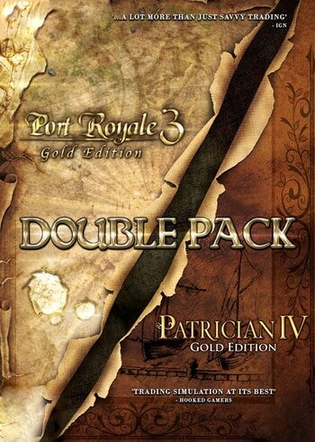 Port Royale 3 Gold + Patrician IV Gold - Double Pack Steam Key GLOBAL