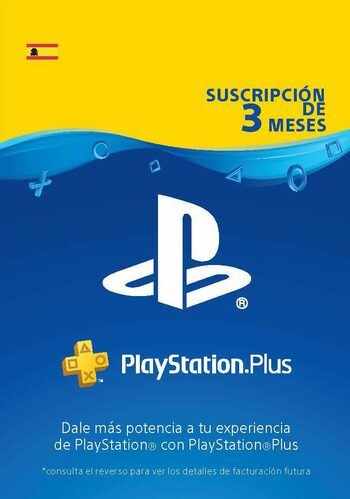PlayStation Plus Card 90 Days (ES) PSN Key SPAIN