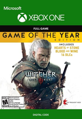 The Witcher 3: Wild Hunt GOTY (Xbox One) Xbox Live Key UNITED STATES