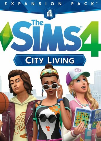 The Sims 4: City Living (DLC) Origin Clave GLOBAL